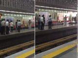کشته شدن یک جوان در متروی شهرری بدنبال حمله وی به یک آخوند