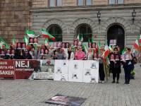 استکهلم: آکسیون در حمایت از زندانیان سیاسی=عقیدتی اعتصابی در گوهردشت+ عکس