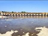 درخواست معترضان  اصفهان از بازاریان برای نجات زاینده رود + فیلم