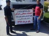 اعتصاب کامیونداران مشهد+ فیلم