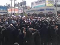 درود بر مردم کازرون: «خسارت به خودروهای پلیس، به آتش کشیدن شدن یک بانک»