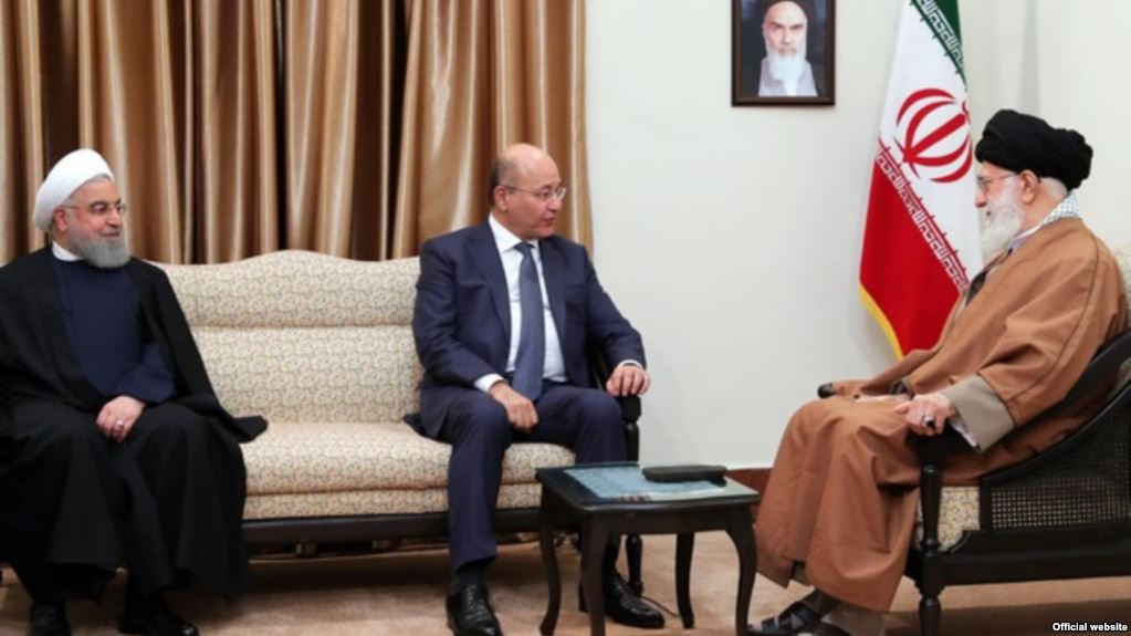 درخواست خامنهای از رییس جمهوری عراق برای حفظ «حشد الشعبی»