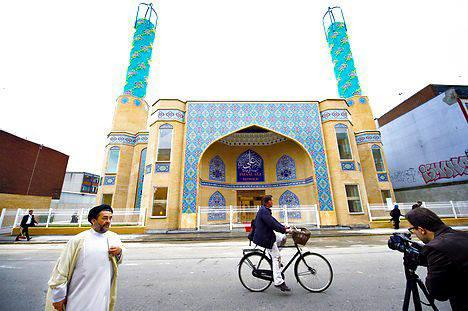 """درخواست تخریب """"مسجد امام علی"""" در دانمارک"""