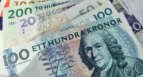 سقوط آزاد پول سوئد