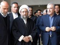 معاون دزد لاریجانی  همراه وی درمجمع تشخیص مصلحت نظام