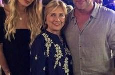 حضور بیل و هیلاری کلینتون در مهمانی میلیاردر ایرانی