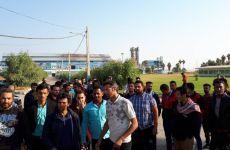 تجمع و اعتراض کارگران شرکت قند شوش