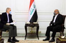 دست به دامن امریکا شدن، عبدالمهدی، نخست وزیر مستعفی