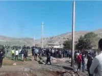درگیری شدید مردم فلک الدین خرم آباد با یگان ویژه – فیلم