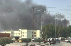 وقوع آتشسوزی در انبار مواد غذایی نجف اشرف