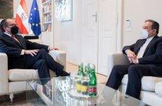 دیدار عراقچی با وزیر امور خارجه  اتریش، بیاد دیپلمات تروریستش