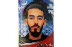 یک بسیجی پاسدار رژیم، شب گذشته به ضرب گلوله به درک واصل شد