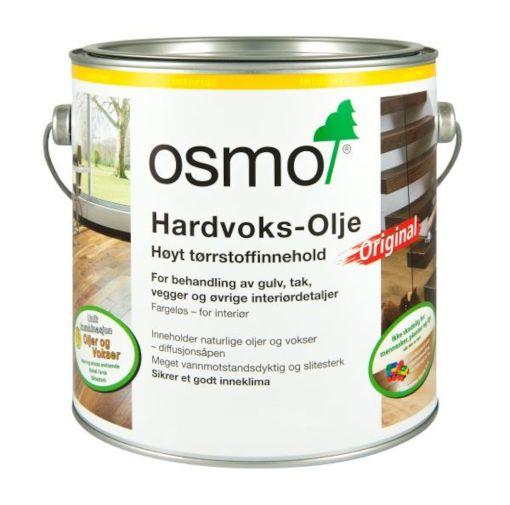 OSMO HARDVOKSOLJE 3074 GRAFITT 2,5LTR