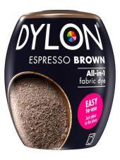 DYLON TEKSTILFARGE MASKIN - ESPRESSO BROWN