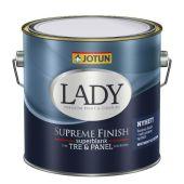 JOTUN LADY SUPREME FINISH 80 2,7L -  SUPERBLANK TRE- & PANEL MALING