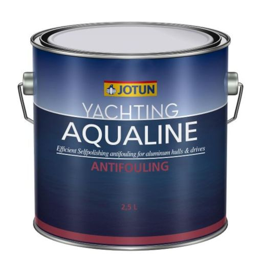 YACHTING AQUALINE BLACK 2,5LTR - BUNNSTOFF FOR ALUMINIUM