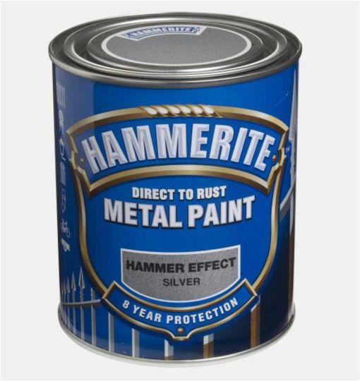 HAMMERITE HAMRET SØLVGRÅ  750ML