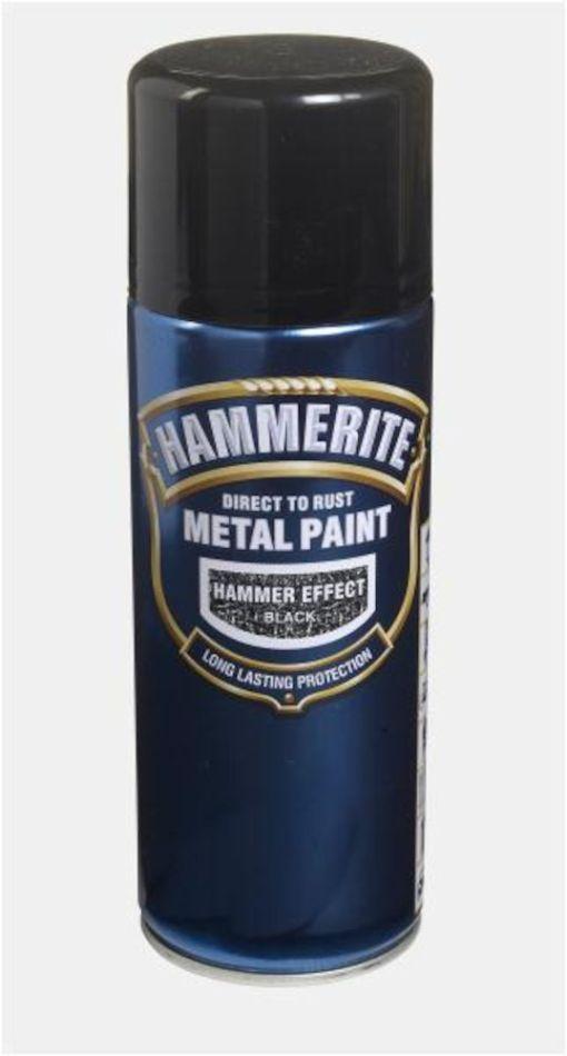 HAMMERITE HAMRET SORT SPRAY 400ML