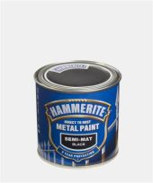 HAMMERITE SEMI-MATT SORT  250ML