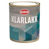 GJØCO KLARLAKK BLANK OLJEBASERT 0,75L