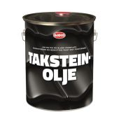 GJØCO TAKSTEINOLJE SVART 10L