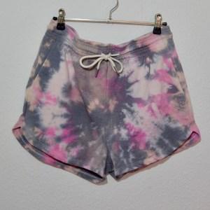 Batik / Tie-Dye Shorts Dragon Fruit - Handmade