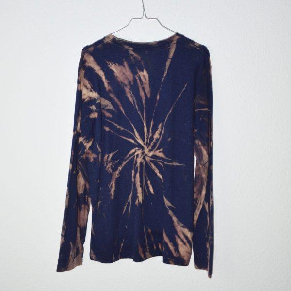 Batik / Tie-Dye Longsleeve Midnight - Handmade, Organic