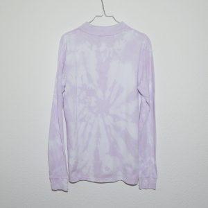 Batik / Tie-Dye Poloshirt Cotton Candy - Handmade, Organic