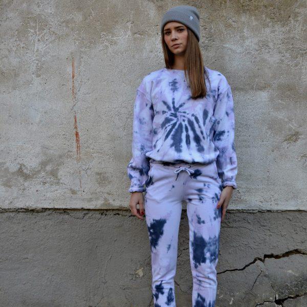 Batik / Tie-Dye Jogginganzug Milky Way - Handmade