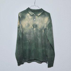 Batik / Tie-Dye Poloshirt Jungle - Handmade, Organic