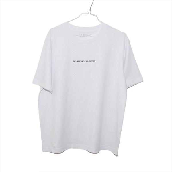 Single Shirt Weiß - Organic, Unisex, Oversize