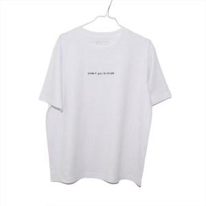 Single Shirt Weiß – Organic, Unisex, Oversize
