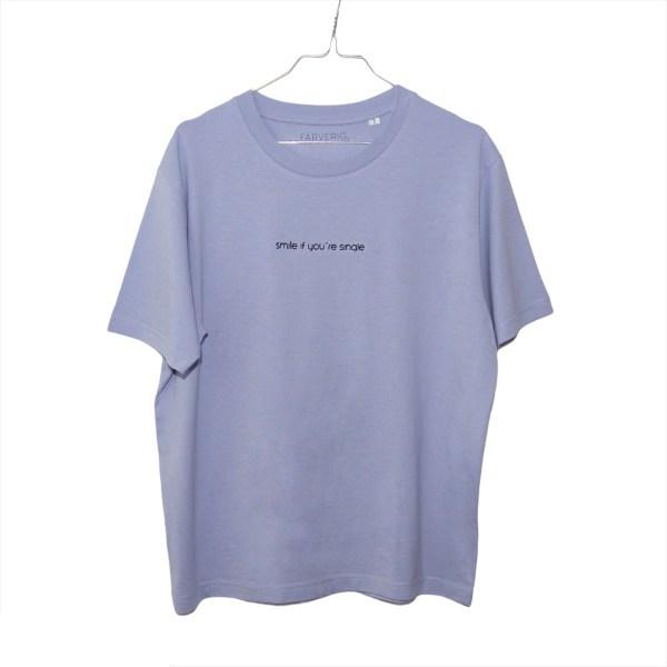 Single Shirt Marshmallow - Organic, Unisex, Oversize