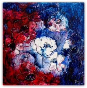 abstrakt ,flydende maling og tegning :-) 20-20