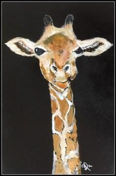 Giraffen på træ solgt