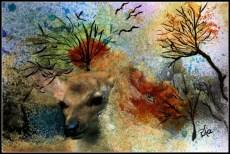 Trædyr nr 2 Mixed media