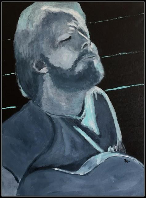 Portræt af blues,