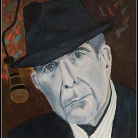 Portræt af en sanger, Leonard Cohen