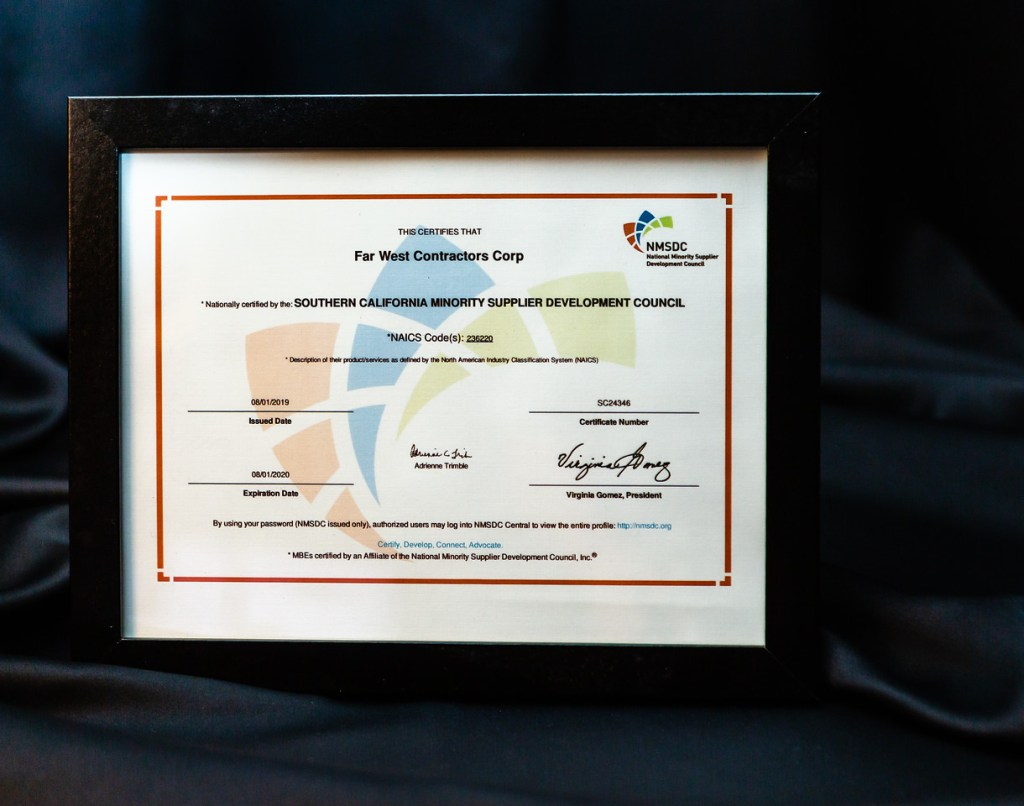 Awards & Recognition – Far West Contractors
