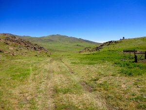 The Spanish Springs Ranch is located on Highway 395 about 50 miles south of Susanville, CA.