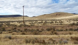 The McDermitt 407-acre property is partially fenced on the northern and eastern sides, with the northern boundary being the Oregon border.