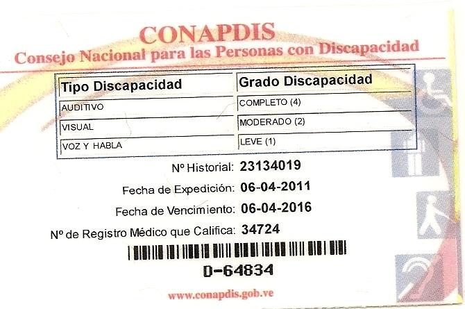 LA INCLUSIÓN SOCIAL, ACADÉMICA Y LABORAL DEL DISCAPACITADO EN VENEZUELA (2/2)