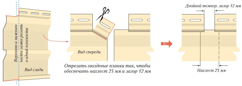 ساخت (اتصال) پانل های سایدینگ در طول