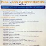 30 Aniversario de la Peña Los Campechanos de Muñez