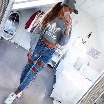 Coolest women denim trends idea (104)
