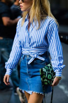 Coolest women denim trends idea (24)