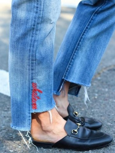 Coolest women denim trends idea (43)