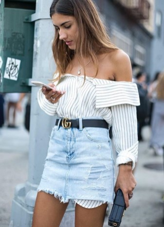 Coolest women denim trends idea (60)