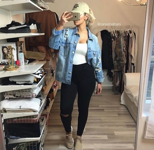Coolest women denim trends idea (66)