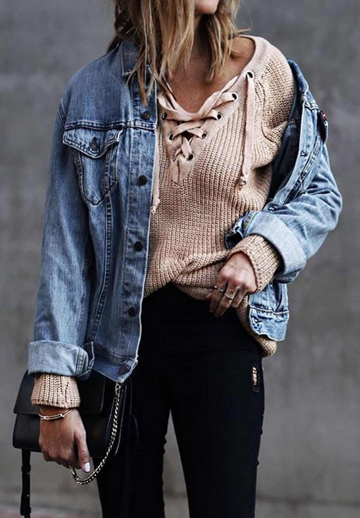 Coolest women denim trends idea (95)